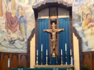 Thomas Aquinas Reno Altar