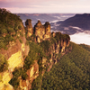 The Three Sisters, Sandstone Rock Formations