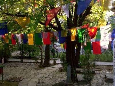 Tibetan Prayer Flags  Norbulingka Gardens Norbulingka Institute Sidhpur Dharamsala