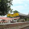 Tihu Railway Station Plateform