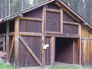 Timber Creek Road Granero Campo