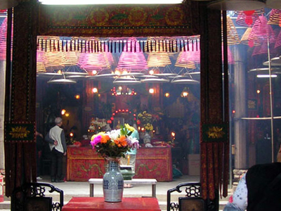 Tin  Hau Temple Inside