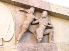 Titanomachy At The Gorgon Pediment