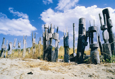 Traditional Burial Poles