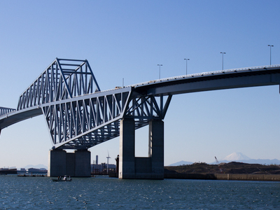 The Main Span Of The Bridge