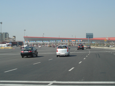 The 32 Lane Toll Gate
