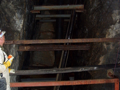 View Of The Inclined Shaft