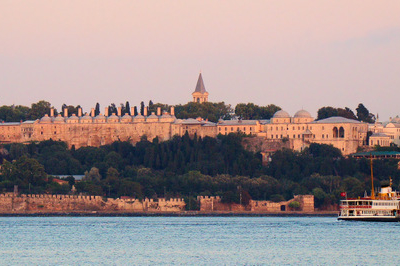 Topkapı Palace From The Bosphorus