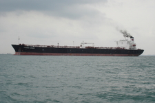 The M.T. Torben Spirit At Anchor In Singapore