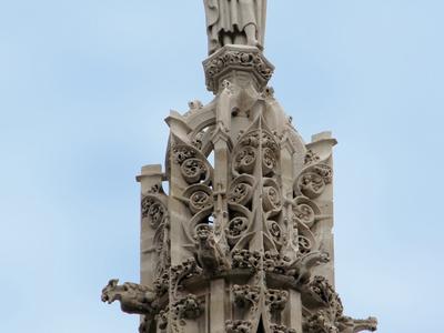 Pinnacle Sculpture At Saint-Jacques Tower