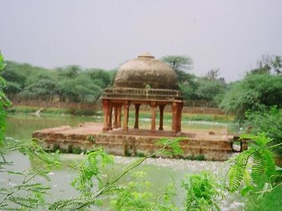 View Of Pavilion In Hauz-i-Shamsi