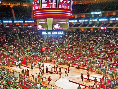 Toyota Center Inside