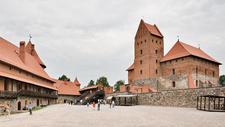 Inner Yard Of Castle