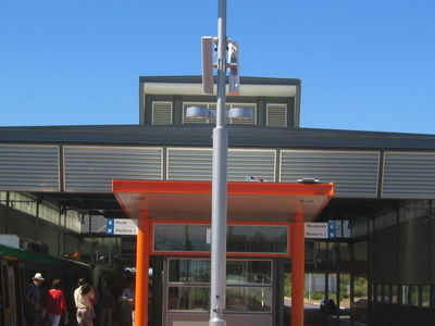 Transperth  Bull  Creek  Station Platform