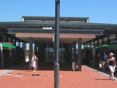 Transperth  Cockburn  Central  Station Platform