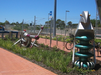 Transperth  Rockingham  Station Decoration