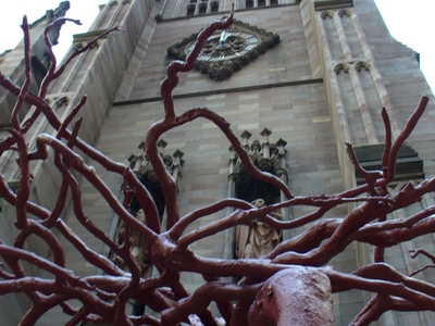 Tree Sculpture At Trinity Church