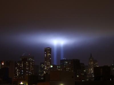 Tribute In  Light  September Shankbone