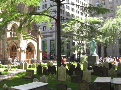 South Churchyard Of Trinity Church