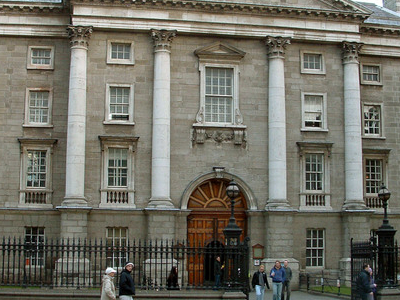 Trinity College Faces Onto College Green