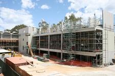 Trinity College Cultural Centre Under Construction