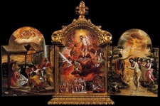 The Modena Triptych By El Greco