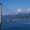 Ma Wan Channel And Tsing Ma Bridge