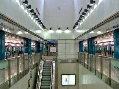 Tuen Mun Station Platform