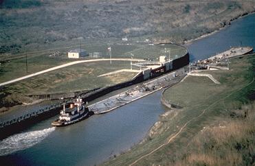 Gulf Intracoastal Waterway Near Matagorda