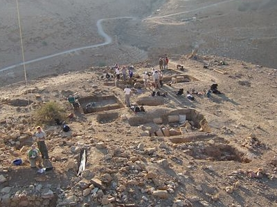 Tulul Adh Dhahab Morning View On Excavation