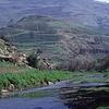 Zarqa River Running In Jerash Governorate