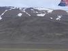 Tungnafellsjokull And Icelandic Flag