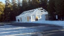 Tuolumne Meadows Store In Winter