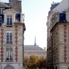 Two Buildings At Place Dauphine