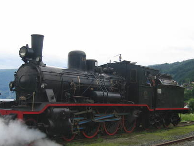 Type 18 Locomotive N. 255 At Garnes