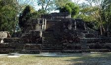 Uaxactun Temple - Petén Department - Guatemala