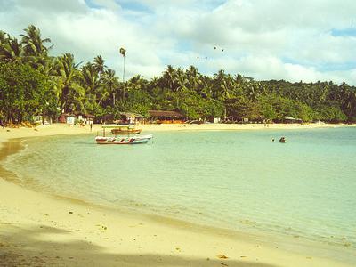 Una Beach Peaceful Afternoon