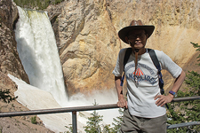 Uncle Tom's Trail Viewpoint - Yellowstone - USA