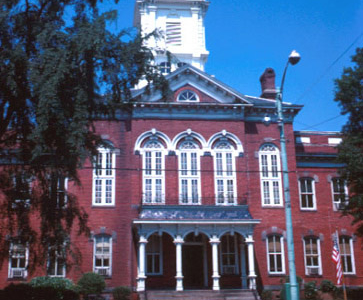 Union County Courthouse In Downtown.