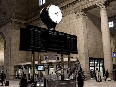 Inter-city Train Timetable - Union Station