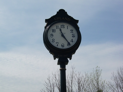 Upland  Indiana Clock