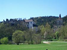 Burg Reichenstein In Ruins, Upper Austria, Austria
