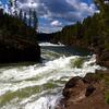Upper Falls Of The Yellowstone River - Yellowstone - Wyoming - U