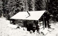 Upper Granite Canyon Patrol Cabin - Grand Teton - Wyoming - USA