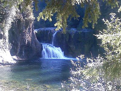 Upper Lewis River Falls - Skamania - WA
