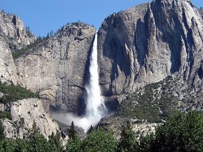 Upper & Lower Yosemite Falls CA