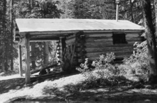 Upper Park Creek Patrol Cabin - Glacier - USA