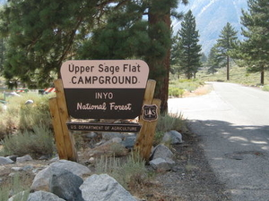 Inyo Upper Sage Flat Campground