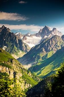 Upper Svaneti Caucasus Mountains