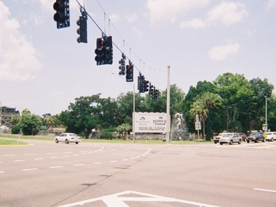 Us 19 Sr 50 And Cr 550 Intersect At Weeki Wachee Springs And Buc